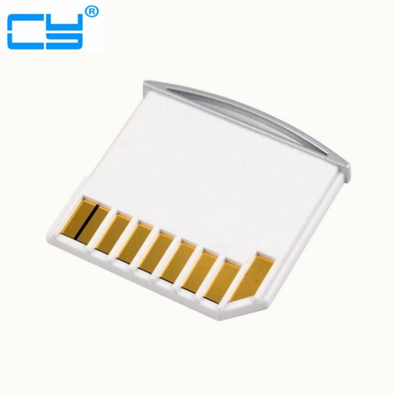 Micro SD TF to SD Card Kit Mini Adaptor for Extra Storage Mac book Air / Pro / Retina White