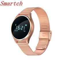 Smartch M7 Bluetooth Приборы для измерения артериального давления наручные часы Смарт-браслет сердечного ритма Мониторы браслет Фитнес сна трекер для Andriod IO
