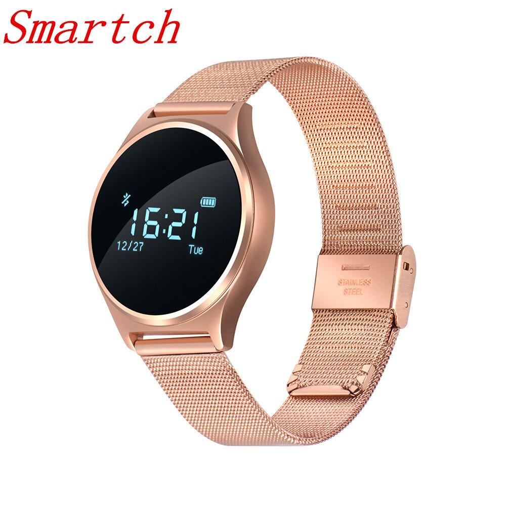 Smartch M7 Bluetooth Sang Pression Montre-Bracelet Smart Bracelet Moniteur de Fréquence Cardiaque Bracelet Fitness Sommeil Tracker pour Andriod iO
