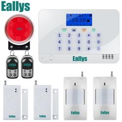 APP Control Wireless SMS Home GSM Alarm system House intelligent DIY SOS Burglar Security Alarm System