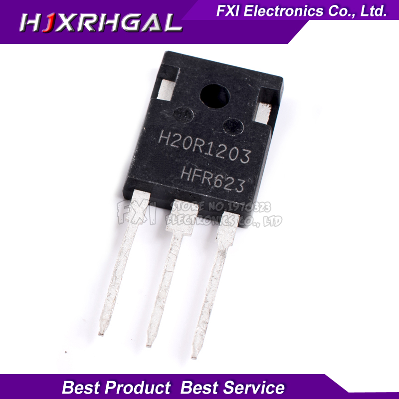 5PCS H20R1203 H20R1203 TO 3P TO247 new original-in Integrated Circuits from Electronic Components & Supplies