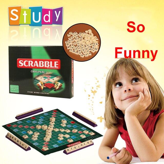 Alta Calidad Ingles Version Scrabble Con Instrucciones Ingles Juego