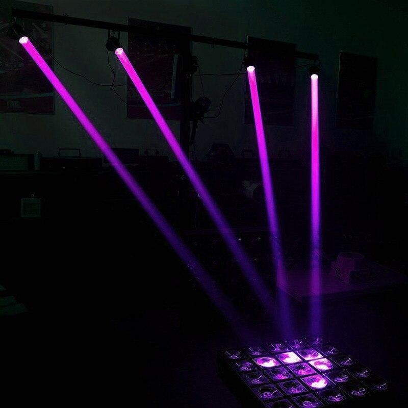 1 Вт RGBW светодиодный сценический светильник ing PinSpot луч Точечный светильник Профессиональный DJ диско вечерние KTV подсветка сценический светильник