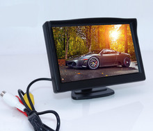 5 Inch LCD Monitor For CCTV Camera 800x480