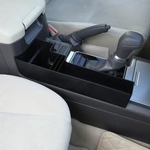 Для Toyota Land Cruiser Prado FJ150 2010-2017 2018 Пластик автомобиля центральной консоли многофункциональный ящик для хранения телефона лоток аксессуар