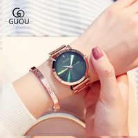 2018 New Fashion Luxury Watch Women Brand bayan saatleri Stainless Steel Ladies Watch Exquisite Women's Watches relogio feminino