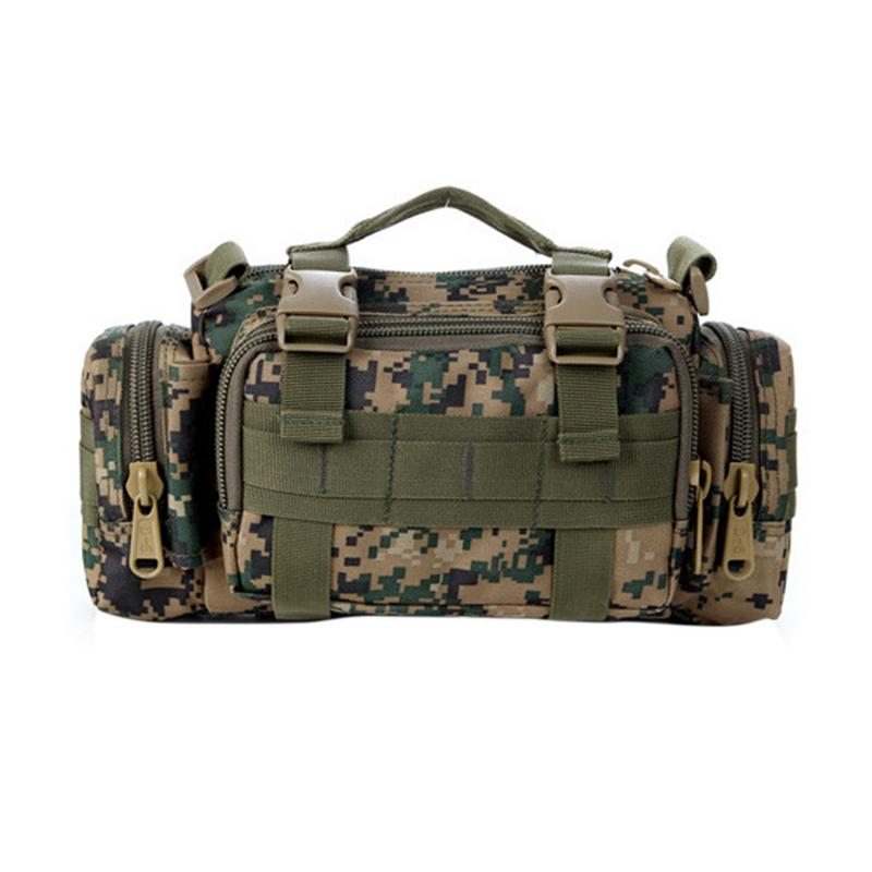 Outdoor Sports Riding Hiking Climbing Fishing Photography Camera Bag Tactical Backpack Multi-functional Camouflage 3p Magic Bag Promote The Production Of Body Fluid And Saliva