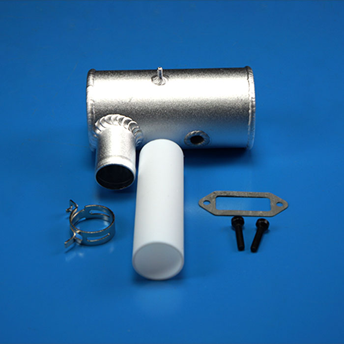 Original Exhaust Pipe Single Hole  For DLE 170 cc Gas Engine Free Shipping-in Parts & Accessories from Toys & Hobbies    1