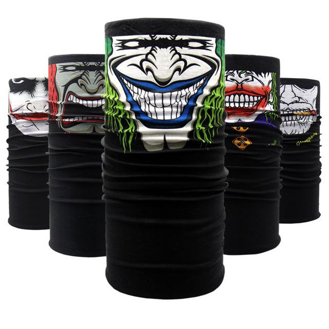 Motorcycle Mask Skull Ghost Maske Biker Motor Face Shield Windproof Outdoor Face Masks Scarf Handsome Unisex Mask