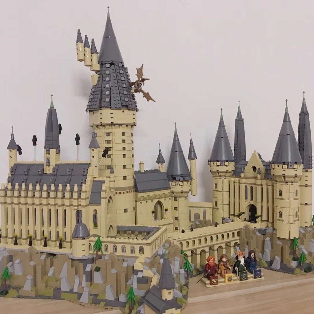Harri Potter 71043 hogwartsi Building castle Set Bricks