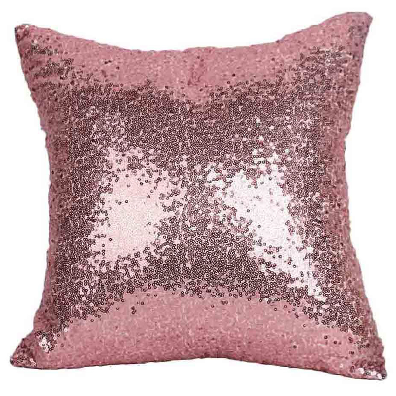 7b468f166448 Mermaid Sequin Glitter Pillow Case Sequin Cushion Cover Solid Pillow Covers  for Car Home Sofa House Decoration Pillows-in Cushion Cover from Home    Garden ...