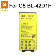 2017 100% ist оригинальный BL-42D1F батарея мобильного телефона для LG G5 H868 H860 F700K H850 H830 H820 реальные 2800 мАч Замена батарей