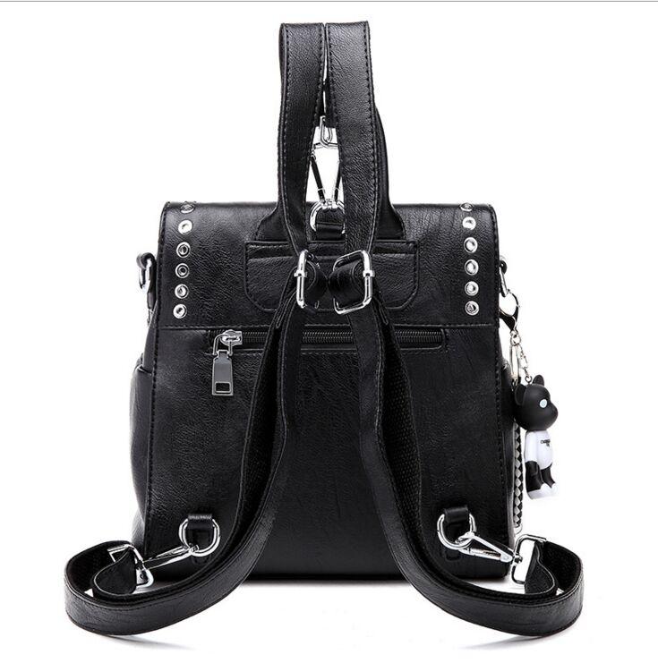 45e757604 Mochila de playa soleada para mujer, mochila de cuero negro, mochila de  diseñador para niñas adolescentes, mochilas escolares en Mochilas de Bolsos  y ...