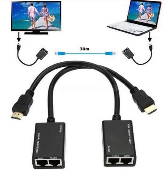 Heißer 1080 p 3D HDMI Über RJ45 CAT5e CAT6 UTP LAN Ethernet...
