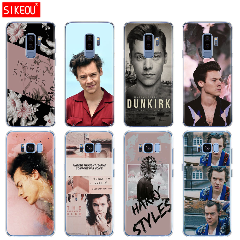 silicone <font><b>case</b></font> for <font><b>Samsung</b></font> Galaxy S9 S8 S7 S6 edge <font><b>S5</b></font> S4 S3 PLUS <font><b>phone</b></font> cover <font><b>Harry</b></font> <font><b>Styles</b></font> image