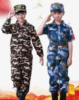 Army Camouflage Clothing Military Uniform For Boy Girl Students Children S Summer Camp Solider Uniform Military