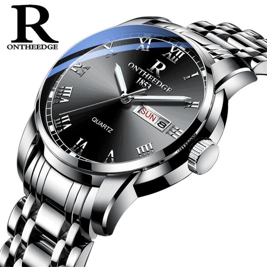 Top Brand Luxury Mens Ladies Watches Quartz Fashion Auto Date Watch Waterproof Men Women's Casual Luminous Wrist Watch 2019