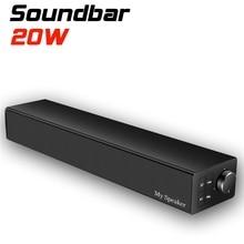 20W Bass Bluetooth Speaker Wireless Subwoofer Speaker Sound System Stereo Music Perimeter Waterproof Splash Outdoor Speaker цена в Москве и Питере