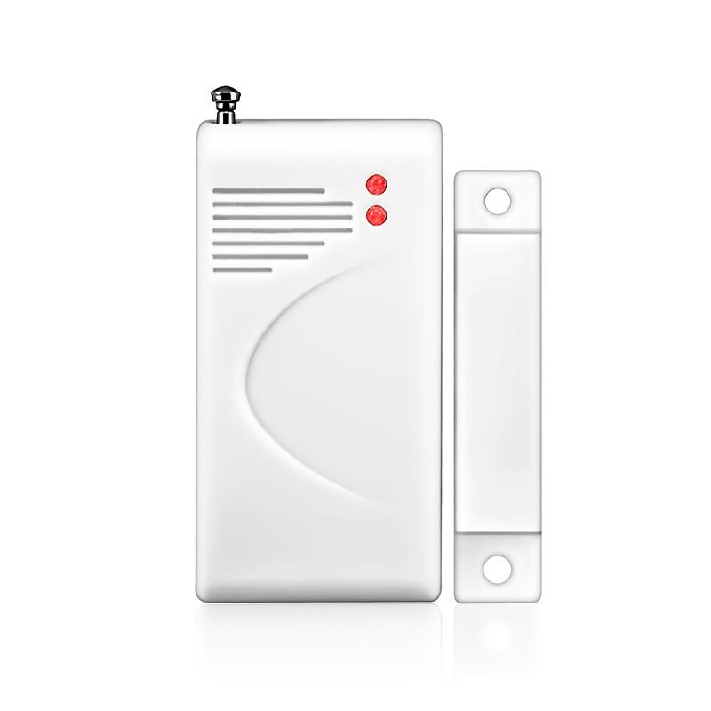Беспроводной дверной оконный контакт датчик зазора детектор открывания двери Предупреждение ющий Датчик 433 мГц датчик сигнализации для до...
