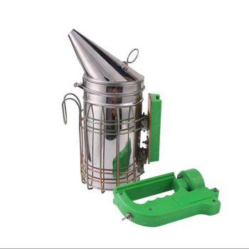 Electric Bee Smoke Transmitter Kit Stainless Steel Beekeeping Tool Smoker