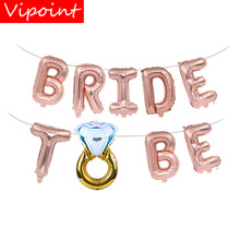 VIPOINT PARTY 16inch miss to mrs bride be foil balloons wedding event christmas halloween festival birthday party HY-149