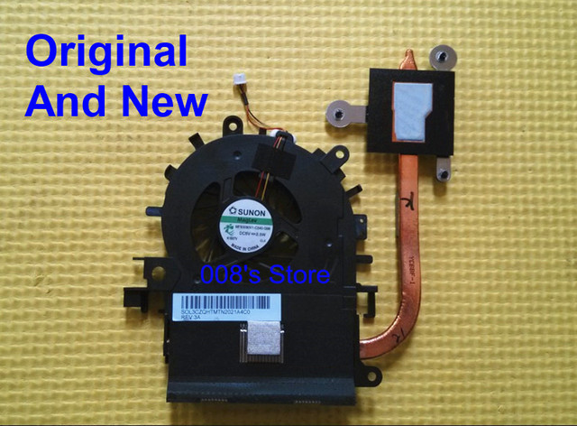 Original novo notebook cooler ventilador e dissipador de calor para acer aspire 4250 4339 4739 para intel cpu sunon mf60090v1-c340-g99 dc 5 v 2.5 W