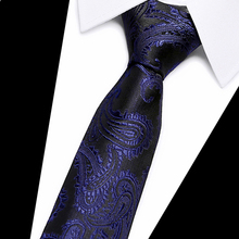 wholesale tie silk 2019 Designer Ties For Men 60 Styles Blue Fashion Woven Neckties Wedding Party group