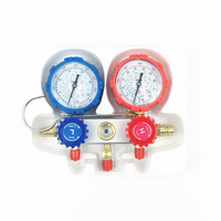 Automotive A/C Air Conditioning R134a R 134a R134A Refrigerant plus fluoride Manifold Pressure Gauge Hose Kit