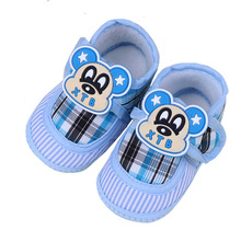 Baby Boy&Girls Soft Cotton Sole Shoes Infant Fashion First Walkers Toddler Girls Kid Cute Anti-Slip Crib Shoes 0-18 Months недорого