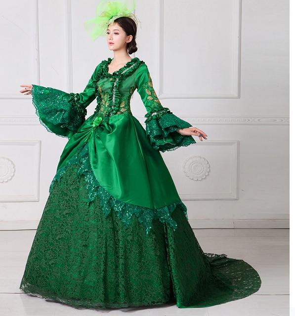 Kleid grun lang spitze