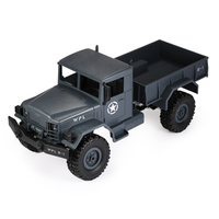 New RC Toys 1:16 Mini Off Road RC Military Truck RTR Four Wheel Drive /Metal Suspension Beam Bright LED Light Racing Kids Gifts