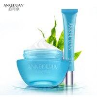 AnKeQuan קמטים אנטי קרם עיניים וקרם פנים הלבנת מוצרי סט טיפוח עור טיפול פנים טיפול פנים עמוק לחות