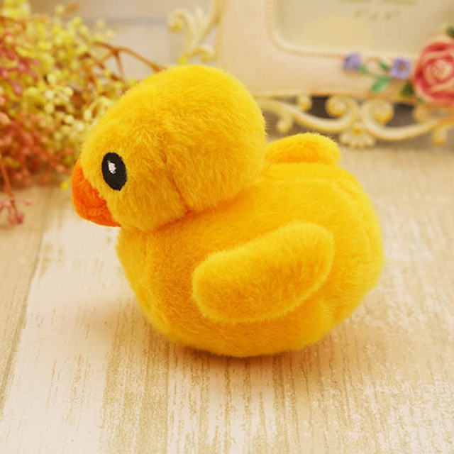 Dog Toys Lovely Pet Puppy Chew Plush Bite Toy Cartoon Animals Squirrel Cotton Rope OX Shape Duck Shaped Squeak Toys Hot  3