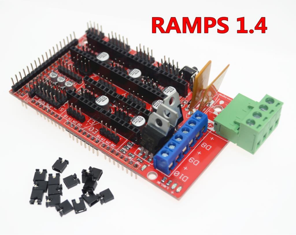 Video Games 1pcs Ramps 1.4 3d Printer Control Panel Printer Control Reprap Mendel Ramps With