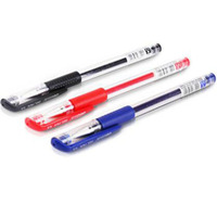 Free Shipping Office Business School Students Black Neutral Gel Pen 12 Pcs 0 5 Mm Papelaria