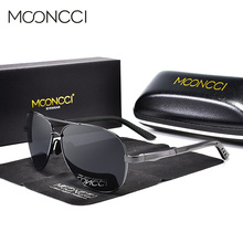 MOONCCI Polarized Aviation Sunglasses Men Classic Brand Desi