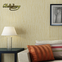 beibehang non woven roll American straw texture wallpaper for living room bedroom backdrop papel parede 3d wall paper for walls
