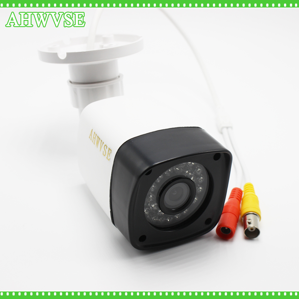 AHWVSE CCTV Camera CMOS 3000TVL IR Cut Filter 2.0MP AHD Camera 1080P Outdoor Waterproof Bullet Security Camera For AHD DVR