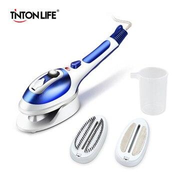 TINTON LIFE 800 Вт ручной отпариватель для одежды портативный домашний и дорожный тканевый отпариватель быстрый нагрев Съемный резервуар для вод...