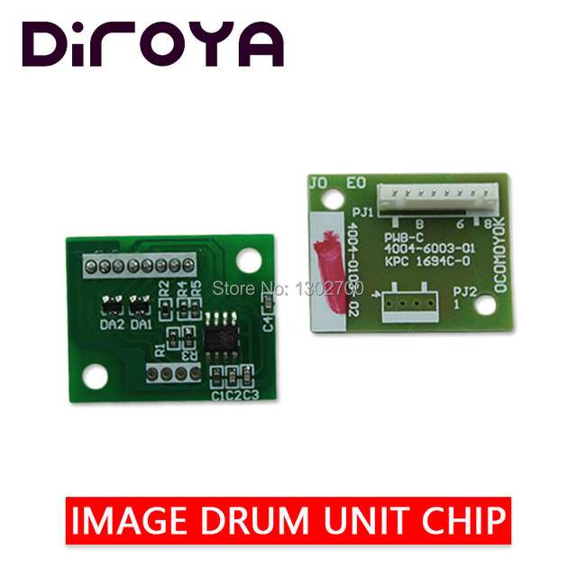1SET IU 610 IU610 K C M Y Afbeelding cartridge chip voor Konica Minolta Bizhub C451 C550 C650 451 550 650 Fotokopieerapparaat drum unit reset