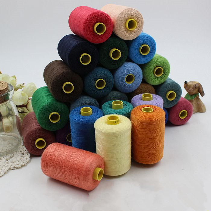 Yards lot high quality polyester sewing threads