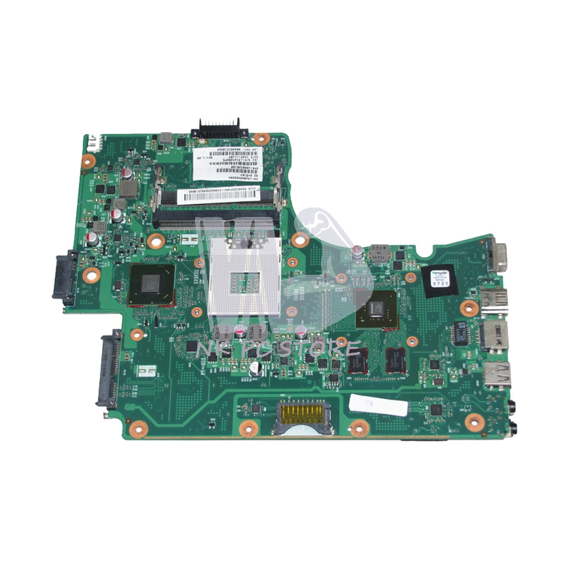NOKOTION V000225180 Main Board For Toshiba Satellite C665 Laptop Motherboard HM65 DDR3 GT315M graphics card nokotion genuine h000064160 main board for toshiba satellite nb15 nb15t laptop motherboard n2810 cpu ddr3