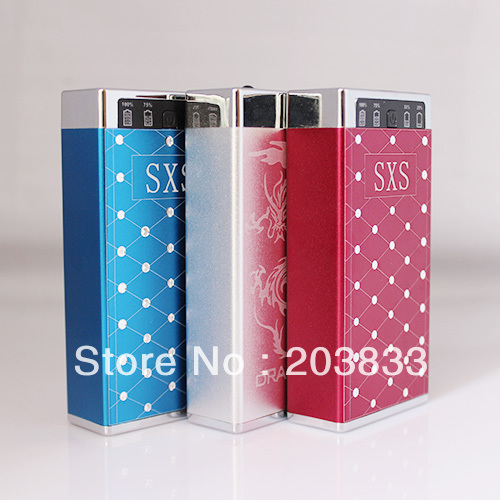 5600mAh USB External Backup Battery SXS Power Bank for iPhone iPod iPad mobile Phone Universal Battery Charger, Free Shipping