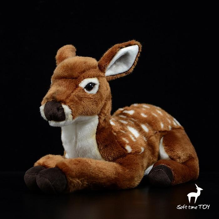 Большие куклы настоящая жизнь плюшевый олень мягкие игрушки Детский подарок подушка большая игрушка мягкая