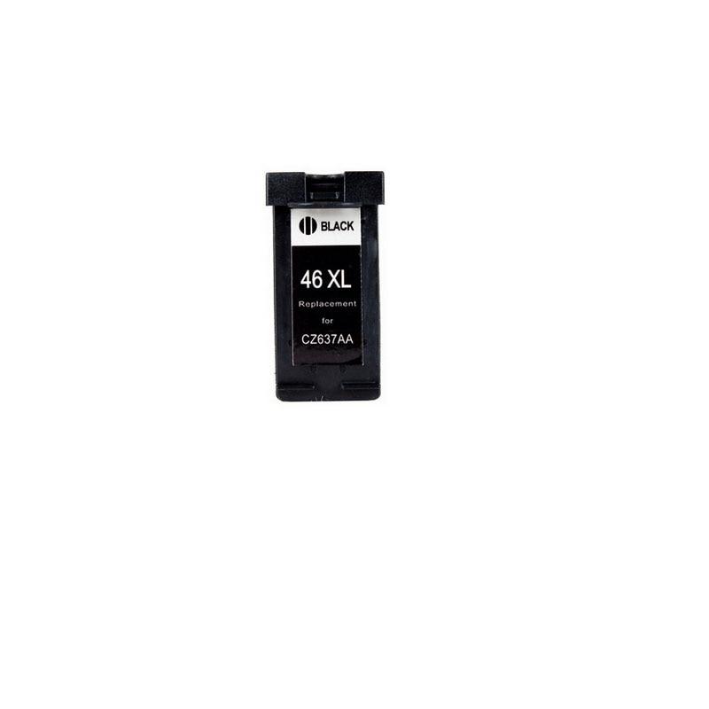 1PK for Ink Cartridges For HP 46 XL For HP46 for hp Deskjet 2020hc 2520hc printer
