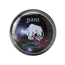 1 Pc da Constelação do Taurus Perfumes Sólidos Mágicos Perfume Fragrância Desodorante