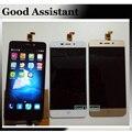 100% testado preto/branco/ouro completa lcd display + touch screen substituição digitador assembléia para zte blade x3 d2 t620 a452