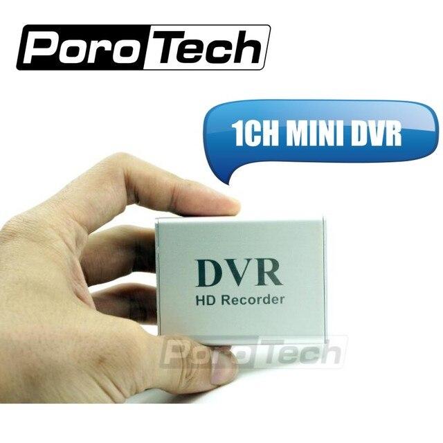 1CH MINI DVR X box 1 Canale CCTV DVR + Carta di DEVIAZIONE STANDARD di 1Ch HD Xbox DVR in tempo Reale mini dvr Video Registratore Video di Compressione