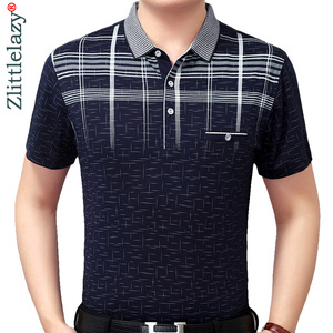 New summer polo shirt men shor
