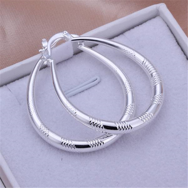 Bohemian lovely fashion cute silver women lady wedding earrings hot selling high quality fashion jewelry free shipping e294